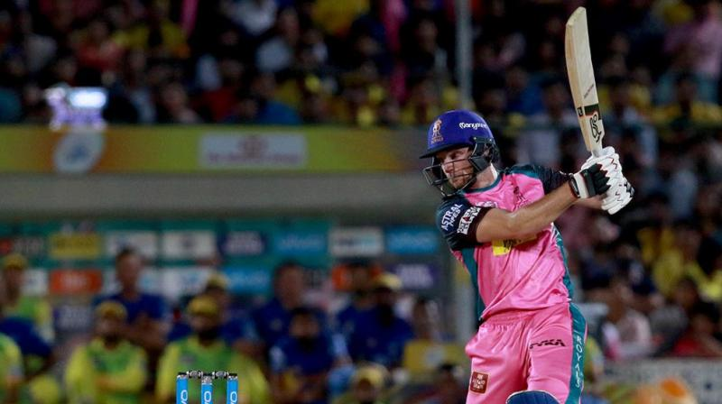 Jos Buttlers heroics with the bat helped Rajasthan Royals stay alive in the tournament. (Photo: BCCI)