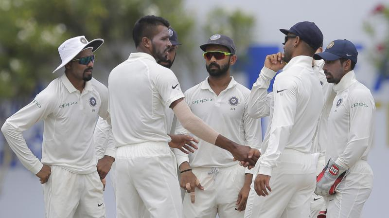 Kohli  was impressed as to how Pandya used the shirt ball and also the speed at which he bowled. (Photo: AP)