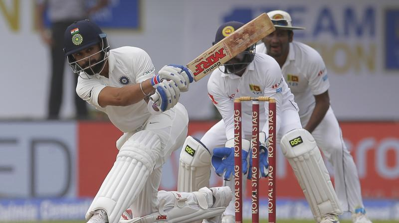 Kohli expressed pleasure that his team had become adept at the art of winning Test matches on flat tracks. (Photo: AP)