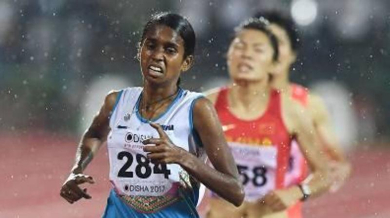 Chitra said her gold medal performance at the Asian Athletics Championships made her an automatic pick for the World Championships. (Photo: AFP)