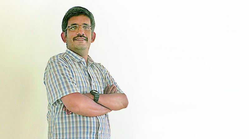 39-year-old entrepreneur Vellanki Kalyan Chakravarty is working towards providing healthier food options to people through his start-up, Chef Farmers.