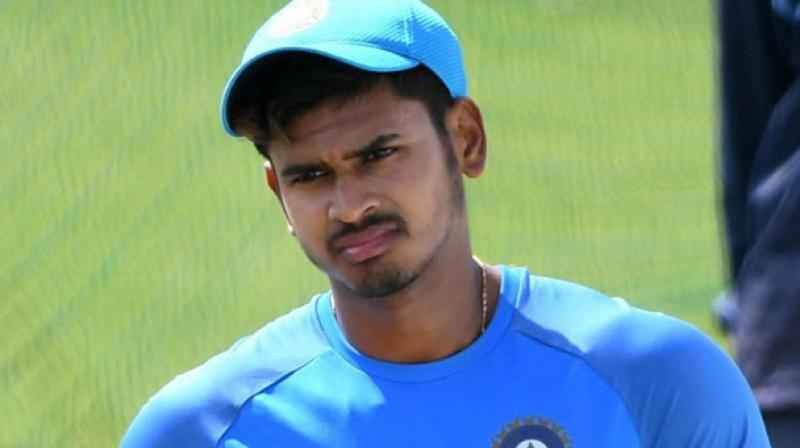Iyer had the challenging job to repair the innings after openers Rituraj Gaekwad, Shubman Gill and skipper Manish Pandey departed inside the first eight overs. (Photo: AFP)