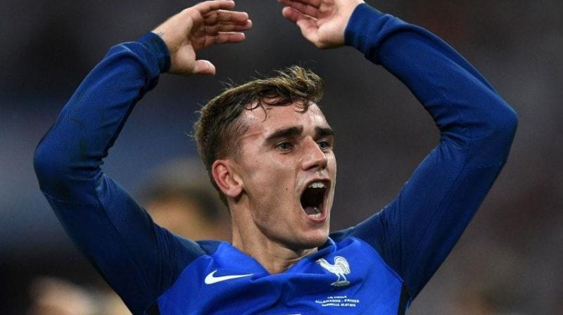 Griezmann was a World Cup champion with France last year. (Photo: AFP)