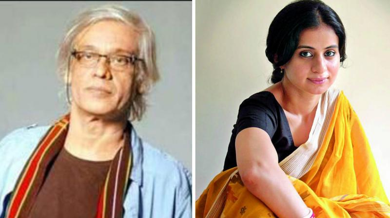 Sudhir Mishra and Rasika Dugal