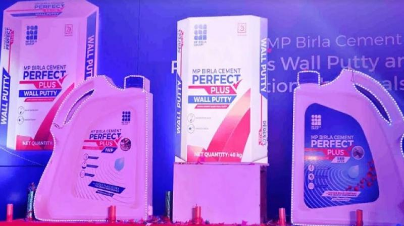 The range of wall putty and construction chemicals, launched by Birla Corporation Limited under the MP Birla Cement Perfect Plus franchise.