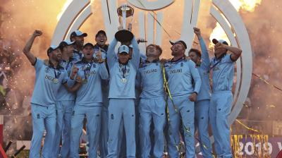 England was on the brink of elimination, but as soon as Jason Roy regained fitness and elevated the team's confidence and the team punched its way to the finals to beat New Zealand and lift the coveted trophy for the first time. (Photo:AP)