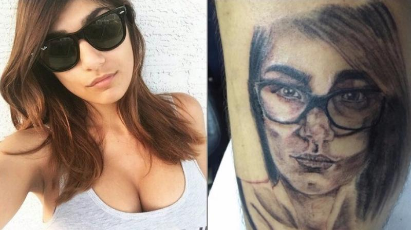 Mia Khalifa Lashes Out At Fan For Getting Her Face Tattooed On His Leg