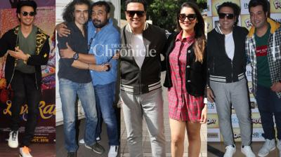 Bollywood stars were spotted at various events for their respective upcoming films in Mumbai on Saturday. (Photos: Viral Bhayani)