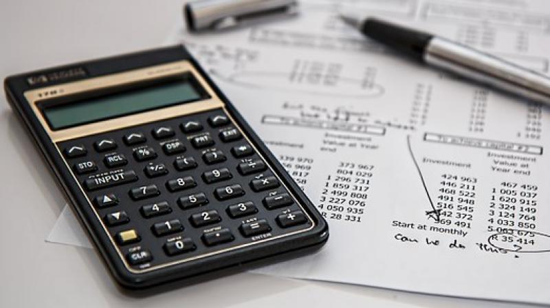 Compound interest problem solving on casio classwiz calculator fx.