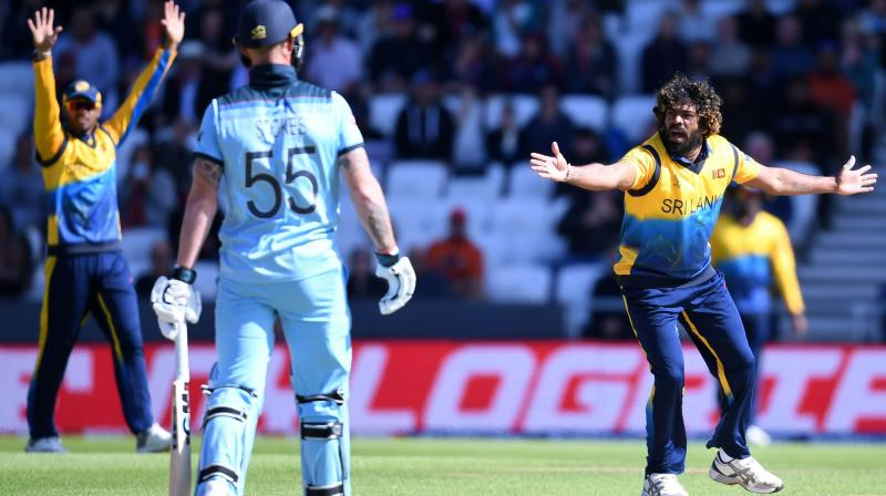 Malinga's haul saw him become just the fourth bowler to take 50 wickets at the World Cup (Photo: AFP)
