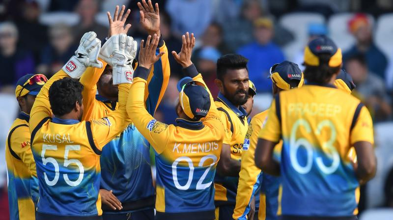 Sri Lanka have now beaten England in four successive World Cups (Photo: AFP)