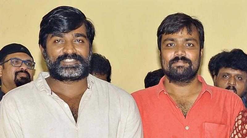 Vijay Sethupathi with Balaji Tharaneetharan