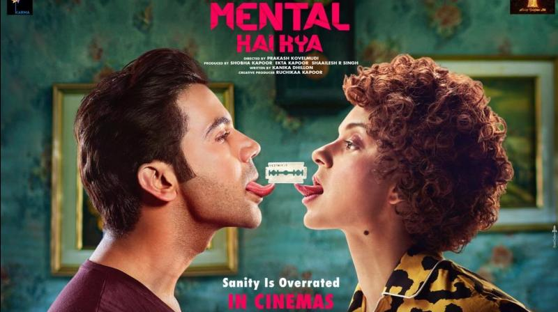 Mental Hai Kya poster. (Photo: Twitter)