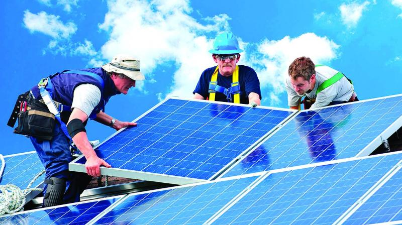 Rooftop solar installations accounted for 17 per cent of total solar installations in the first half of 2019, a decline of 45 per cent compared to H1 2018.