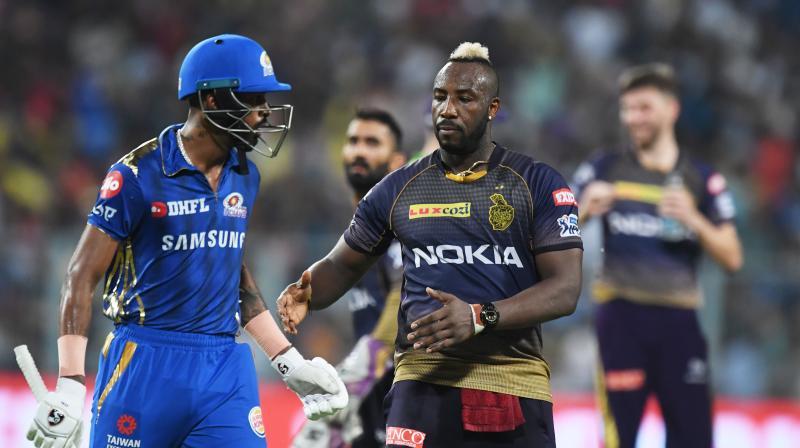 Keiron Pollard and Hardik Pandya gave their side a crucial momentum. Hardik Pandya scored the fastest half-century in this season of IPL as he scored his half-century in just 17 balls and both the players formed a 63-run partnership. After Hardik Pandya's dismissal, Mumbai's batting line-up crumbled and faced a 34-run defeat. (Photo: AFP)