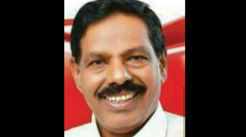 Chengannur MLA KK Ramachandran Nair dies at 65