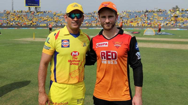 While it is highly unlikely that it will rain and the Qualifier 1 at the Wankhede Stadium in Mumbai gets called off subsequently or otherwise, in case it had to be called off, then it will be Sunrisers Hyderabad, who will directly make it to the final, while Chennai Super Kings will have to play Qualifier 2 against the winner of Eliminator. (Photo: BCCI)
