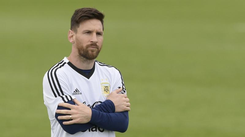 e31b3abb Star forward and captain Messi is desperate to lift the trophy and has  hinted he will