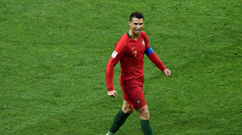 After achieving the feat, Ronaldo thanked his team-mates and coaches. (Photo: AFP)