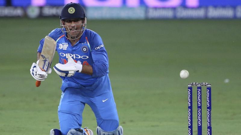 In the current year, Dhoni has played only 15 ODIs and 7 T20 Internationals - effectively only 22 days for India and at times his lack of match time becomes pretty evident. (Photo: AP)