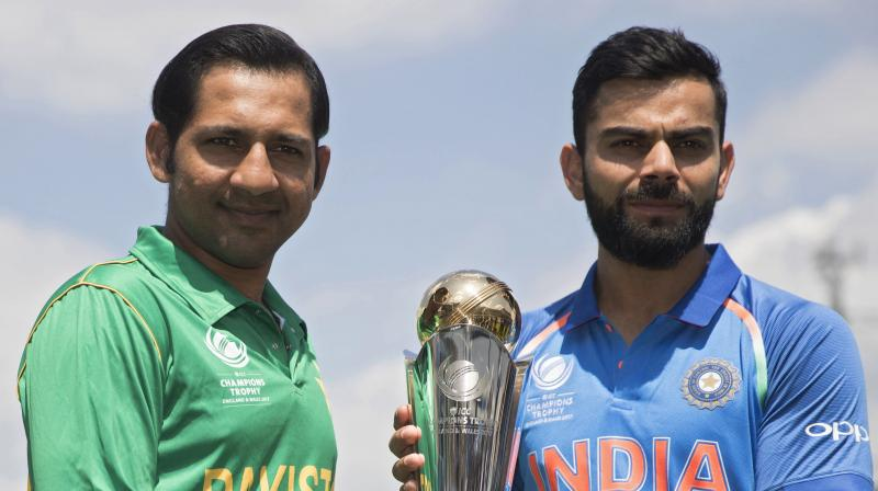 Arch-rivals and Asian neighbours, India and Pakistan square off in the ICC Champions Trophy 2017 final at The Oval on Sunday. (Photo: AP)