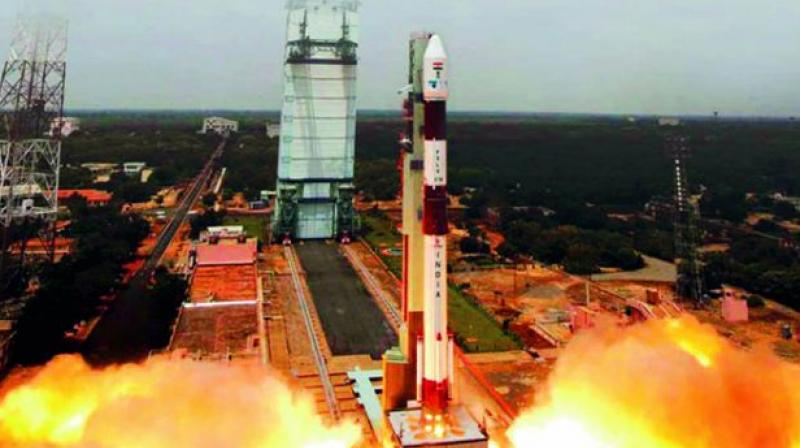 Isro is planning to launch Remote Sensing Satellite Resourcesat 2A on board Polar Satellite Launch Vehicle (PSLV-36) from the Satish Dhawan Space Centre, Shar, Sriharikota, on November 28. (Representational image)