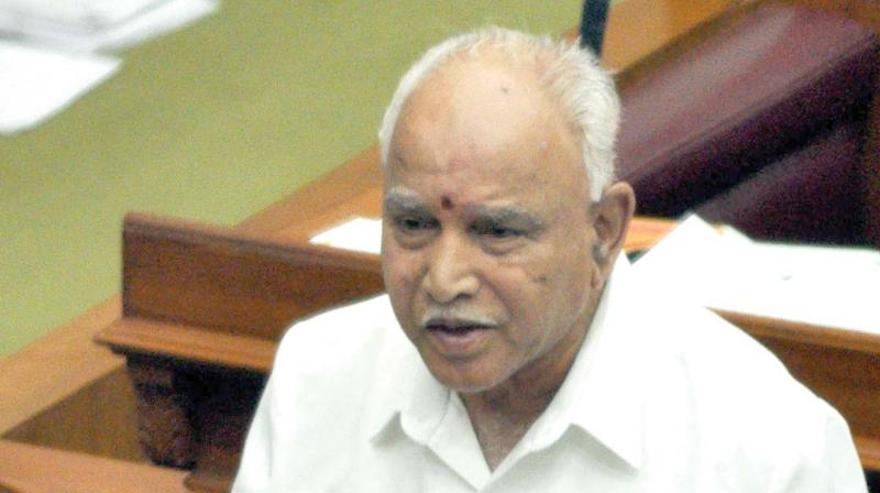On media reports that some Congress leaders are planning to join the BJP, Yeddyurappa said he has no knowledge about it, but would wait for any such developments. (Photo: File)