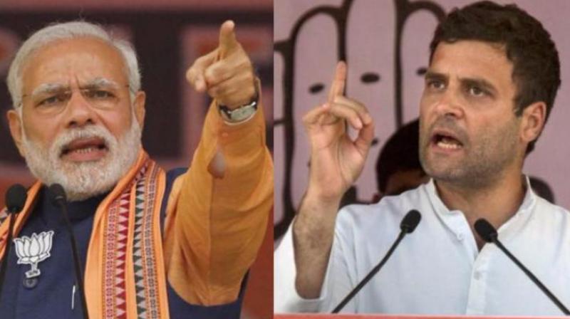 Prime Minister Narendra Modi and Congress chief Rahul Gandhi (Photo: File)
