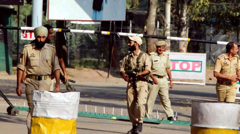 The abducted security personnel have been identified as Firdous Ahmad Kuchey, Kuldeep Singh, Nisar Ahmad Dhobi and Fayaz Ahmad Bhat. (Photo: File   PTI)