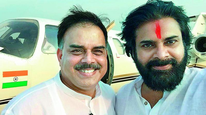 ap-news-pawan-kalyan-janasena-sand-lorry-hit-his-c
