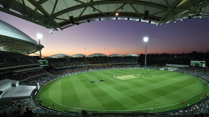 In day-night Tests over the past three years, Adelaide's opening-day crowds numbered around 47,000, 32,000 and 55,000. (Photo: AFP)