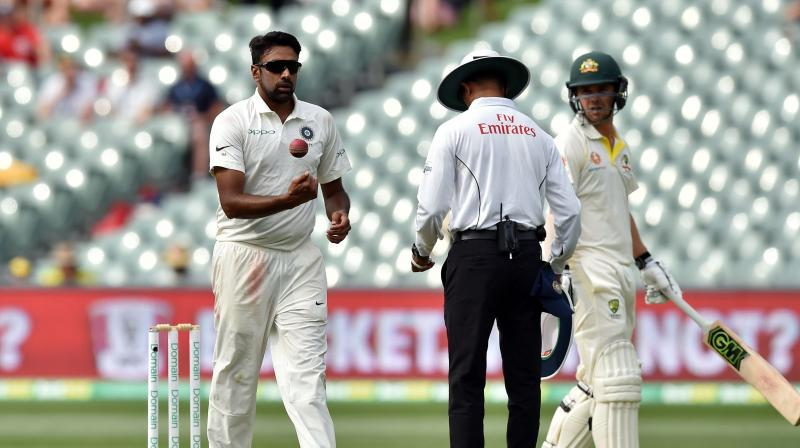 Australia trailed by 59 runs and Ashwin said the Test was still on equal terms. (Photo: AFP)
