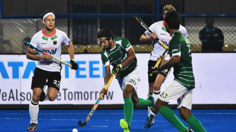Four-time champions Pakistan are currently placed third in Pool D behind Netherlands and table-toppers Germany and they need at least a draw against the Dutch to avoid early ouster from the tournament. (Photo: AFP)