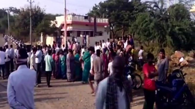 A case of murder and rioting under relevant IPC sections was registered based on a complaint filed by TRS leader's son. (Photo: ANI)