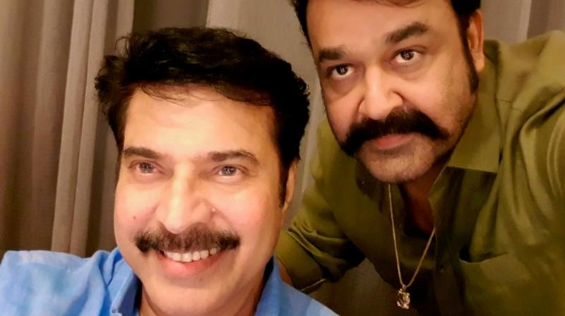 Mammootty and Mohanlal.
