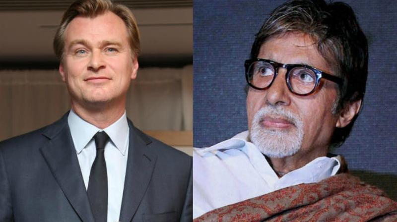 Christopher Nolan is popular worlwide and Amitabh Bachchan seems to be in awe of him.