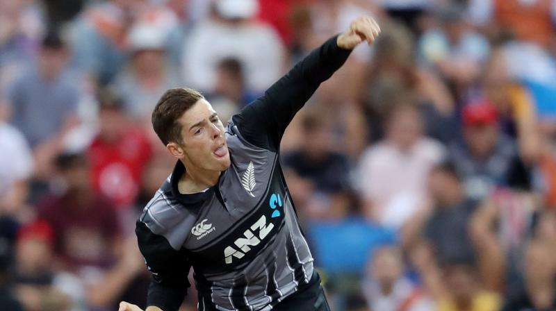 Santner impressed during New Zealand's limited-overs tour of India last year with his guile and control. (Photo: AFP)