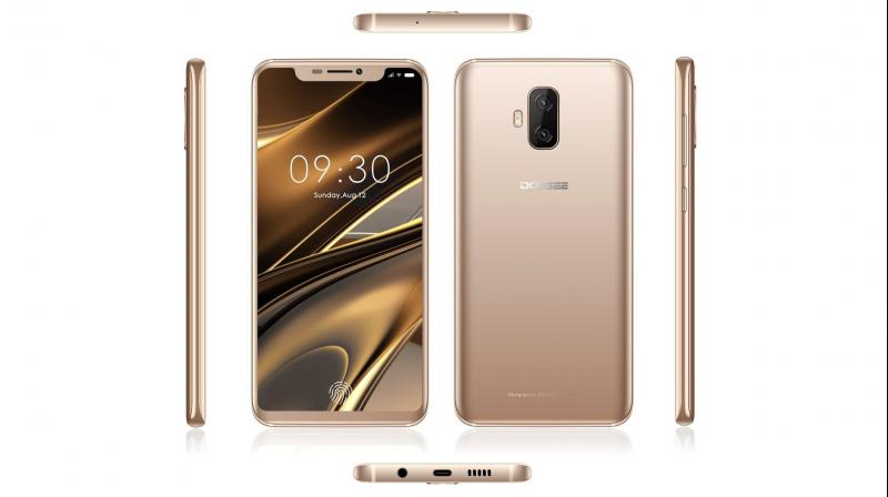 Doogee V, the 1st phone with on-screen fingerprint sensor, unveiled