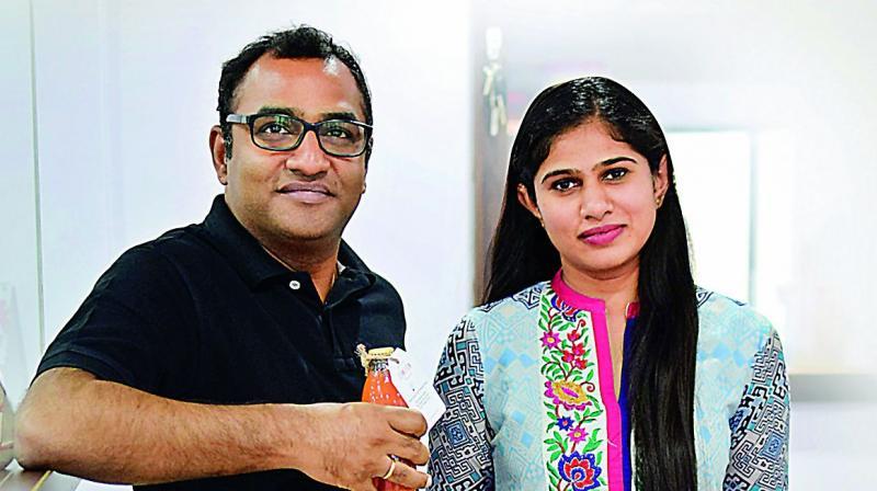 Gopikrishna Lingala and Saneesha