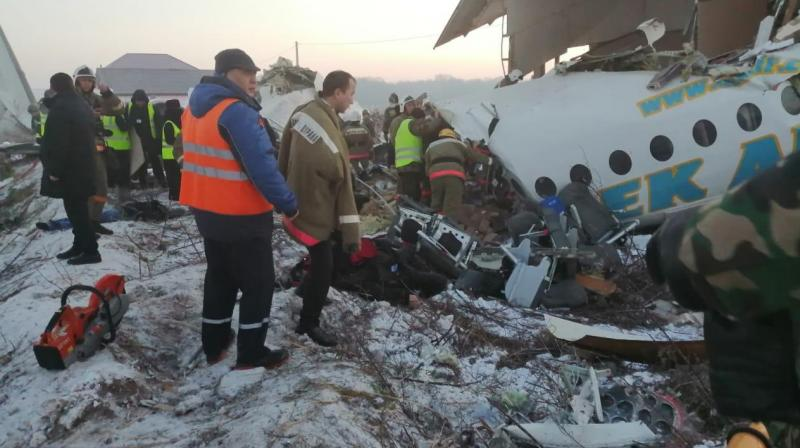 Plane crash in Kazakhstan kills 7 people