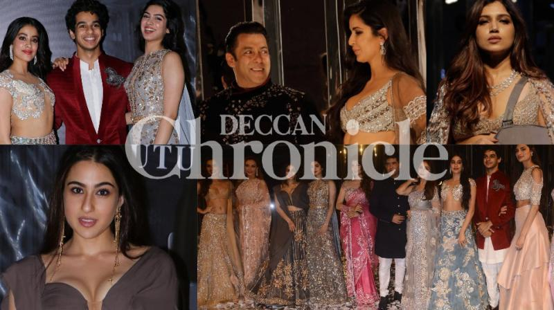 While Salman Khan and Katrina Kaif walking the ramp was a big thing in itself, there were many others present at the event who raised the glamour quotient in Mumbai on Wednesday. (Photos: Viral Bhayani)