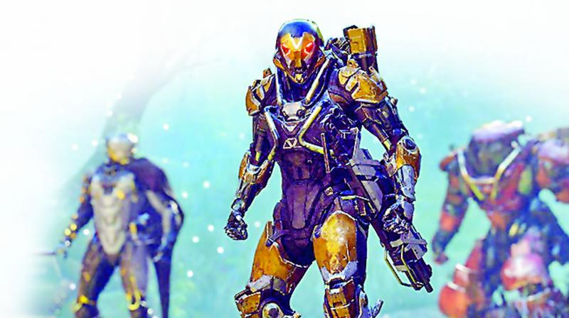 Anthem is the next big title coming from EA and is one of the most exciting new IP's set for this year.
