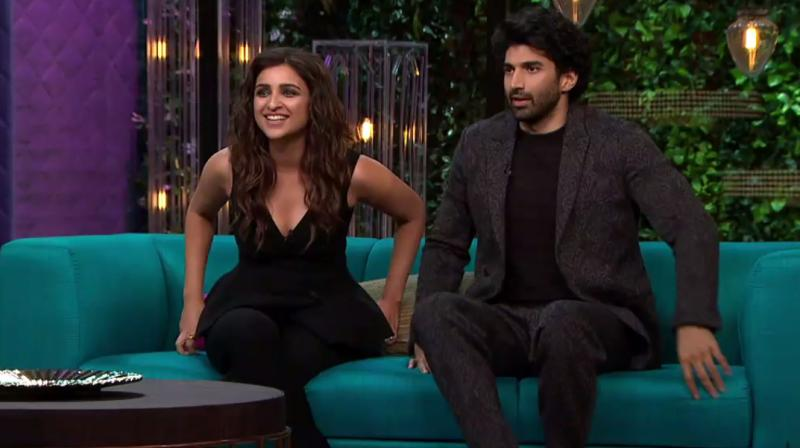 The actress appeared on Koffee with Karan with Aditya Roy Kapur.