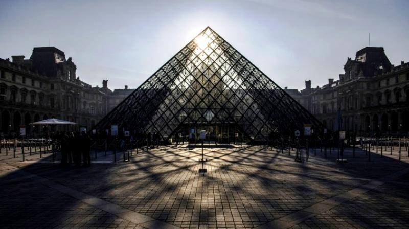 Plonking a modernist pyramid into the centre of a Renaissance palace was initially considered sacrilege. (Photo:AFP)