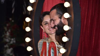 Prithvi Theatre Festival commenced a few days back and yesterday, a day before Diwali, the festival finally saw Saif Ali Khan and Kareena Kapoor Khan make time, looking all too pretty.