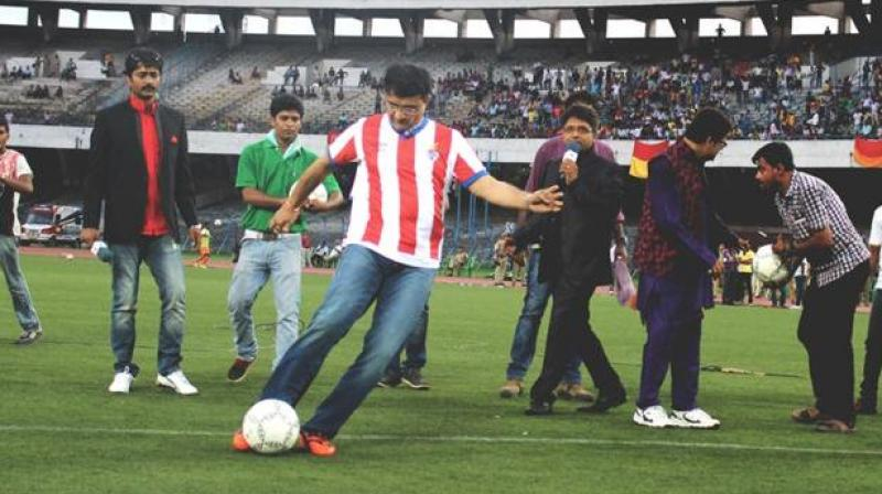Sourav Ganguly is also the co-owner of ISL franchise Atletico de Kolkata. (Photo: Twitter)