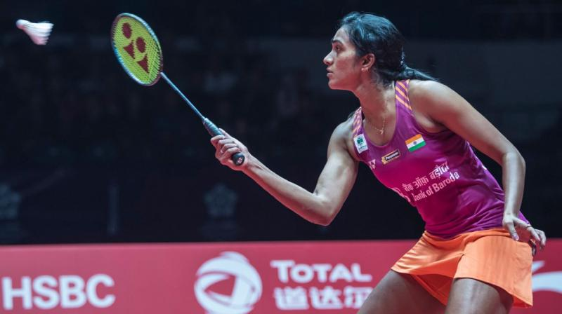 The 24-year-old PV SIndhu had lost in the second round and first round at the China Open and Korea Open respectively in the last two events. (Photo: Twitter)
