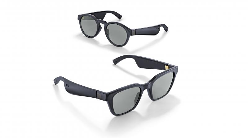 Bose Frames come in Matte Black and two universal styles, the larger (Alto) and smaller (Rondo).