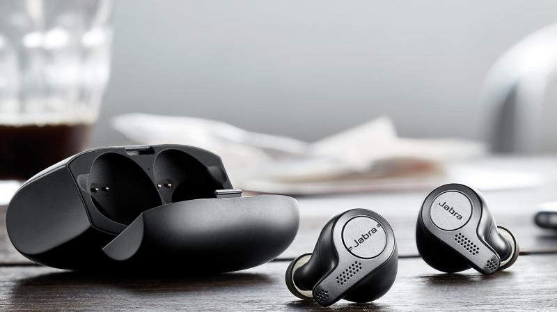 The Jabra SmartSound engineered Elite 85h headphones come with Active Noise Cancellation (ANC) and Jabra's Hear Through technology.