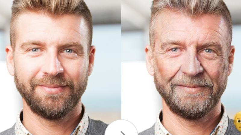 FaceApp uses neural network technology to automatically generate highly realistic transformations of faces in photographs. (Photo: FaceApp)